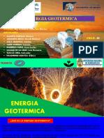 energia geotermica FORO