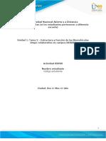 Anexo 2 - Tarea 2 - Estructura y función de las biomoléculas