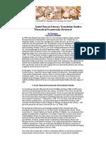 8 - The Postcolonial Turn in Literary Translation Studies - Bo Petterson