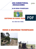 SISTEMAS DE RIEGO TECNIFICADOS
