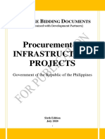 Simplified 6th Edition of PBDs for the Procurement of Infrastructure Projects