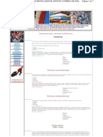 Características y usos de los plásticos