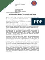 TALLER APLICACION DE TEORIA EN AMANECER MEDICO