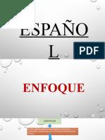 programa  español 1 a 6to grado
