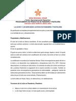 LA LECHE Y LOS DERIVADOS LÁCTEOS EN PANADERÍA Y PASTELERÍA
