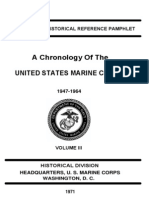 A Chronology of the United States Marine Corps 1947-1964