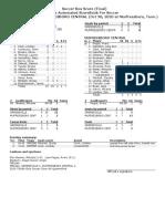 Greeneville vs  Murfreesboro Central Box Score
