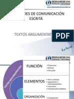 Texto Argumentativo 2011