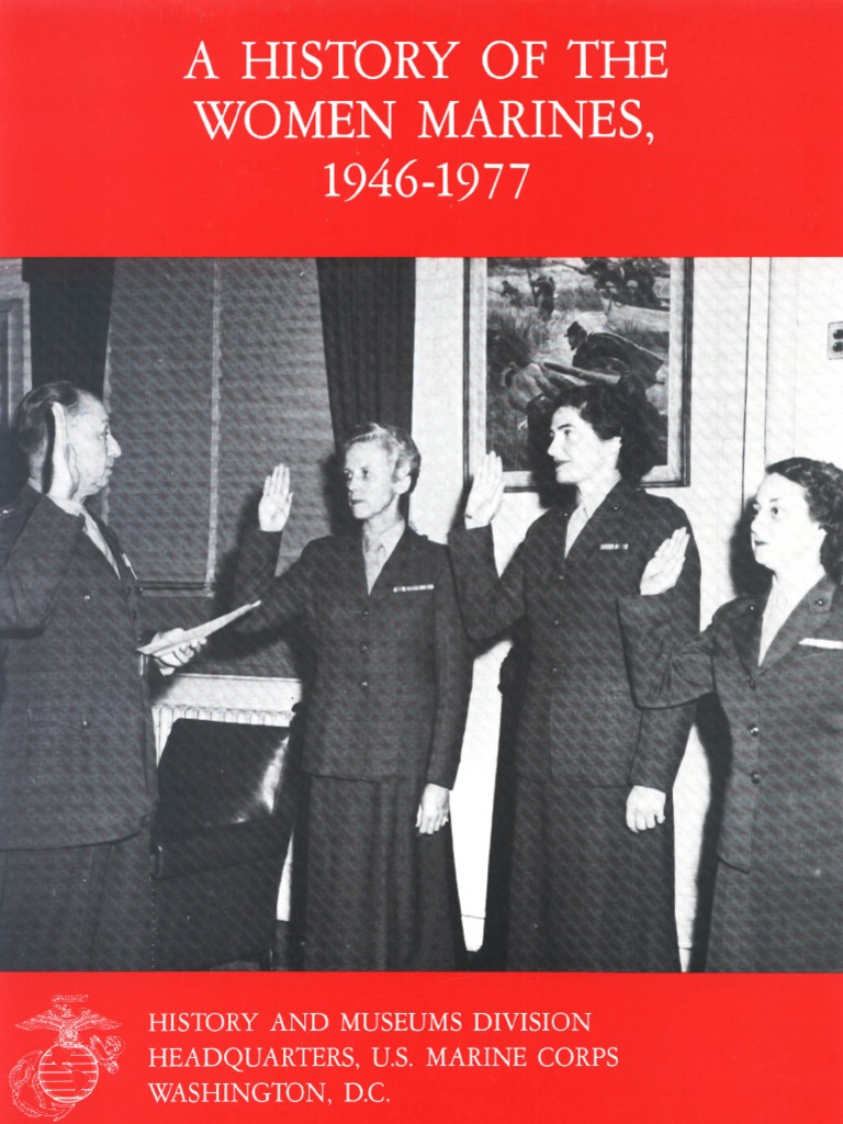 A History of the Women Marines 1946-1977 | United States Marine ...