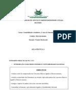 Aula Prática 1- Macroeconomia 2019 2º Semestre