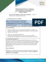 Unidad 2 - Tarea 3  - Comunicación y colaboración en la web