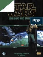 Star Wars - Starships and Speeders
