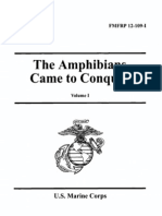 FMFRP 12-109-I the Amphibians Came to Conquer - Vol I