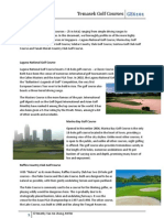 A Comprehensive Summary of the Golf Courses in Singapore