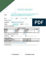 PARTE DIARIO CSO