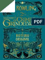 (JLF)Roteiro do 2° Filme - Animais Fantásticos - J. K. Rowling