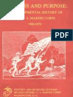 Progress and Purpose a Developmental History of the US Marine Corps