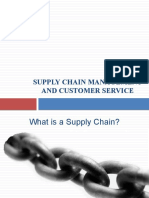 5 Supply Chain Management and Customer Service