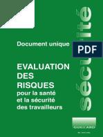 Document unique evaluation des risques
