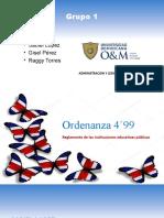 Exposicion ordenanza 4´99