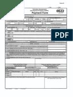 Bir Form No. 0622