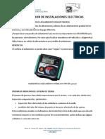 PRUEBAS ELECTRICAS 3