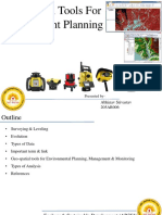 Geo-spatial Tools for Environment Planning