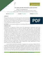 1. Ijrbm- Virtual Communication and Organizational Effectiveness