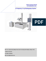 200mA High Frequency X-ray Radiography System