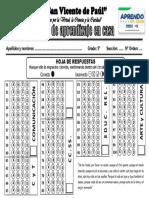 HOJA DE RESPUESTA SV 2020 - 5º GRADO-1