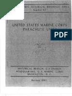 United States Marine Corps Parachute Units