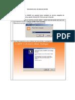 servidor web y de base de datos xampp