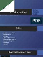 A  Ética de Kant