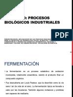 UNIDAD 10 - PROCESOS BIOLÓGICOS INDUSTRIALES - 2020