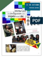 12 de octubre Dia del Respeto a la Diversidad Cultural
