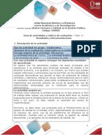 Guia de Actividades y Rúbrica de evaluación - Unidad 3- Fase 4- Resultados y Recomendaciones
