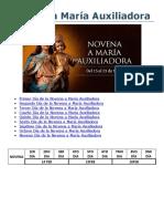 Novena a María Auxiliadora ACIPRENSA