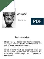 Aritotle Ethics