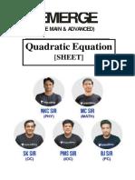 Quadratic Equation_sheet_Update