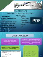PRÁCTICA Nº 8 DIGESTION ENZIMATICA DELALMIDON