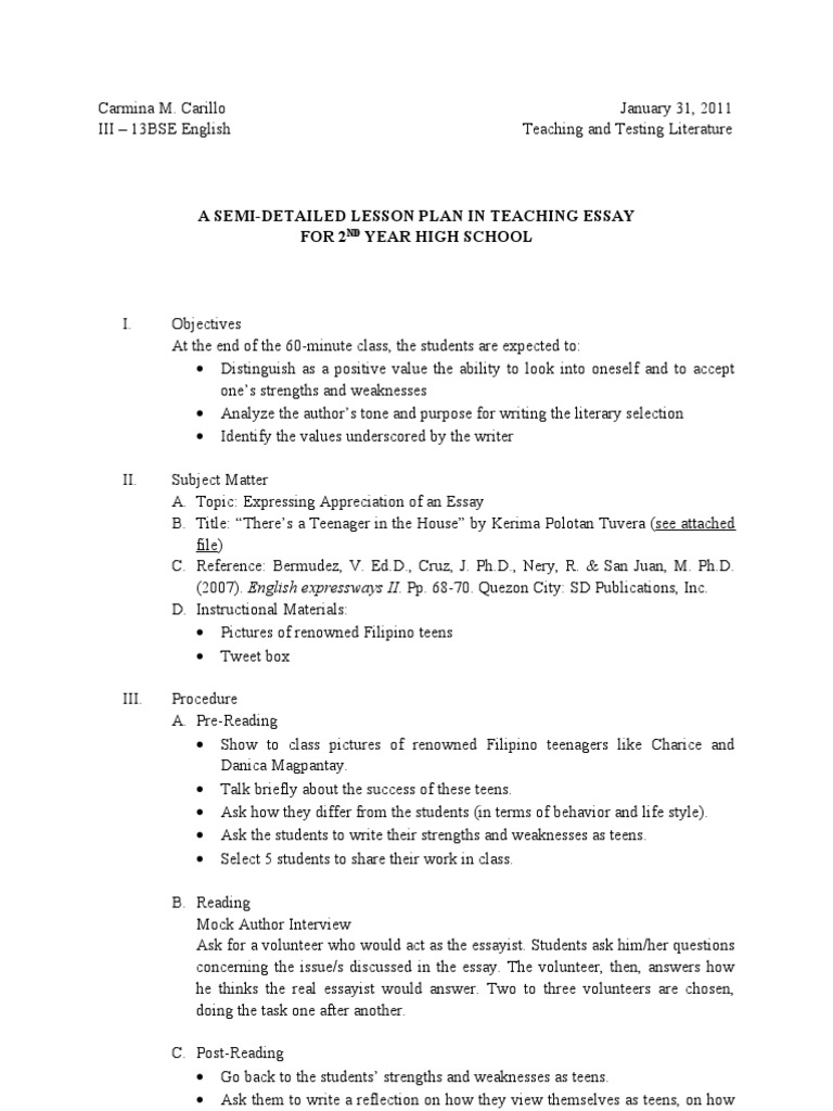 strengths and weaknesses essay