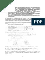 EXERCICES CALCUL DES COUTS SUR LES PRODUITS DERIVES FC22 (1)