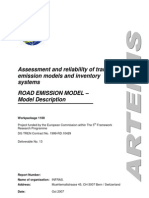 ARTEMIS_Road_Model_Description_V04d_071008