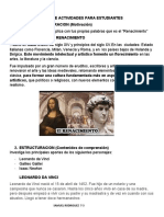 PLAN DE ACTIVIDADES PARA ESTUDIANTES DEL GRADO 7-3