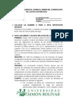 ANALISIS JURISPRUDENCIAL SOBRE EL DEBER DEL COMERCIANTE DE LLEVAR CONTABILIDAD