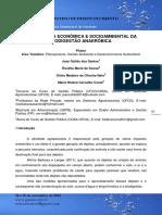 Importância econômica e socioambiental da biodigestão anaeróbica - resumo