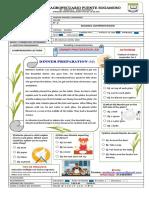 READING COMPREHENSION INGLES 8° - 2020 (1)