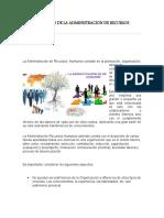 CARACTERISTICAS DE LA ADMINISTRACION DE RECURSOS HUMANOS KMM