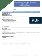 E.P.PU_LES PETITS MONTAGNARDS-PEISEY-NANCROIX-PROJET_2020-2021-Chant et rythme a l-ecole