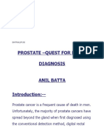 Tumour markers in prostate cancer